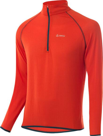 Aero Sweater mit Halfzip