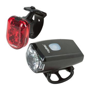 Cytec USB Fahrradlicht-Set schwarz