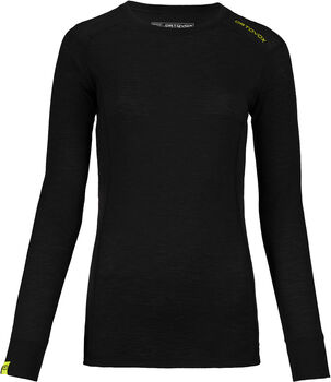 ORTOVOX Ultra Langarmshirt Damen schwarz