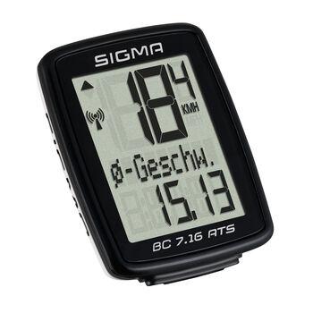 SIGMA BC 7.16 ATS Radcomputer schwarz