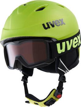 Uvex Airwing 2 Pro Skihelm & Brille gelb