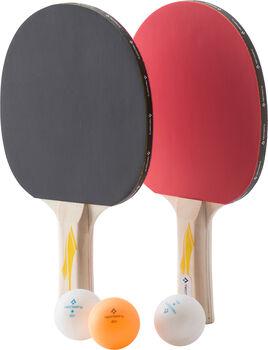 TECNOPRO Pro 2000 2 Player Tischtennisset & 3 Bälle weiß