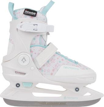 TECNOPRO Flash 3.0 Eishockeyschuhe Mädchen weiß