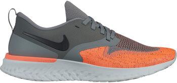 Nike Odyssey React Flyknit 2 Laufschuhe Damen grau