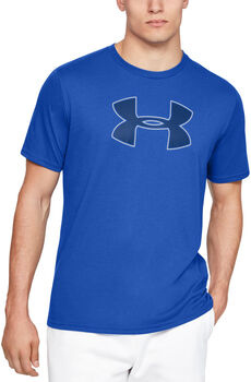 Under Armour Big Logo T-Shirt Herren blau