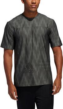 ADIDAS City Knit T-Shirt Herren grün