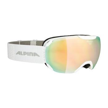 ALPINA Pheos S MM Skibrille Herren weiß