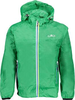 CMP Regenjacke mit Kapuze grün