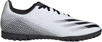 adidas  X Ghosted.4 TFHr. Turfschuh Herren weiß