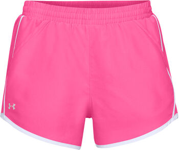 Under Armour FLY BY Shorts Damen pink