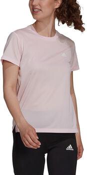 adidas Designed To Move 3-Streifen T-Shirt Damen pink