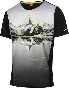 LÖFFLER Peaks T-Shirt Herren schwarz