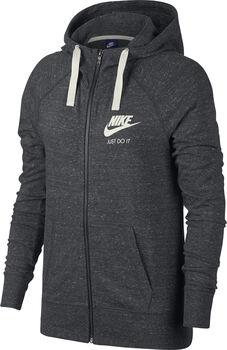 Nike Sportswear Gym Vintage Sweatjacke mit Kapuze Damen grau