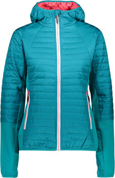 CMP Jacket Fix Hood Wanderjacke Damen grün