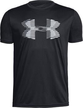 Under Armour Tech Big Logo Trainigsshirt Jungen schwarz
