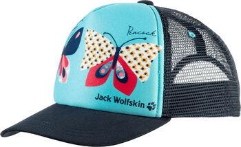Jack Wolfskin Animal Mesh Kappe blau