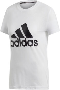 ADIDAS MH BOS T-Shirt Damen weiß