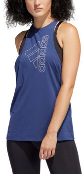 ADIDAS Badge of Sport Tanktop Damen blau