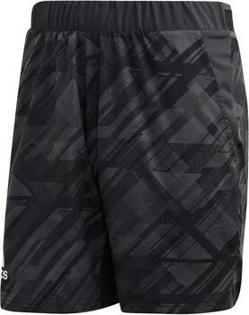 adidas Ergo Tennis Printed AEROREADY Shorts Herren schwarz