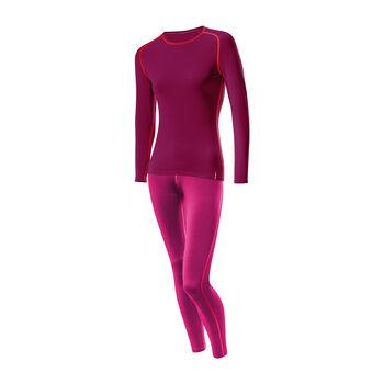 LÖFFLER Transtex® Warm Unterwäschenset Damen rot