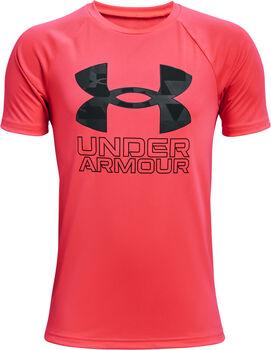 Under Armour Tech Hybrid PRT Fill T-Shirt rot