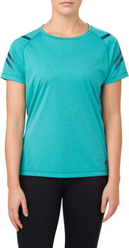 Asics Shirt ICON SS Damen blau