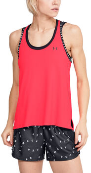 Under Armour Knockout Tanktop Damen rot