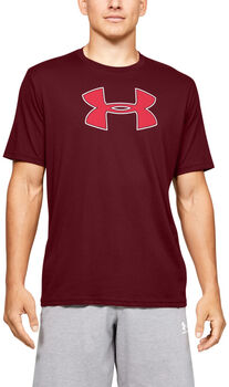 Under Armour Big Logo T-Shirt Herren rot