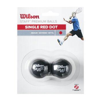 Wilson Staff Squashbälle rot