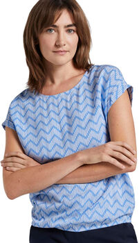 TOM TAILOR Blouse Printed Damen blau