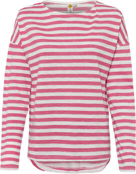 ROADSIGN Da. Shirt Damen pink