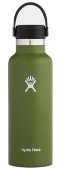 Hydro Flask Standard Mouth Isolierflasche grün