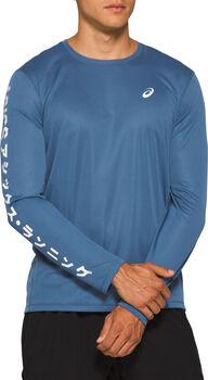 Asics Katakana Langarmshirt Herren blau