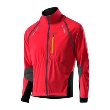 LÖFFLER San Remo Bike Zipp-Off-Jacke Herren rot