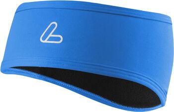 LÖFFLER Stirnband Mono Flaps blau