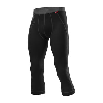LÖFFLER 3/4 Unterhose TRANSTEX® Merino Herren schwarz