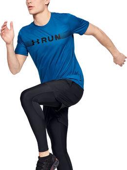 Under Armour Run Warped T-Shirt Herren grün