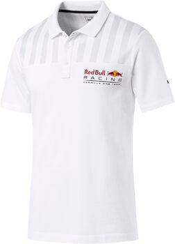 Puma RBR Logo Poloshirt Herren weiß