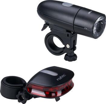 Cytec 23 Lux Fahrradlicht-Set schwarz