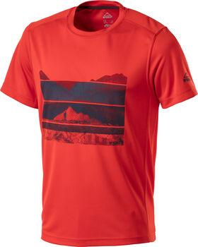 McKINLEY Active Raffa T-Shirt Herren rot