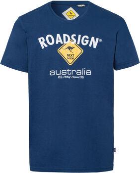 Roadsign T-Shirt Herren blau