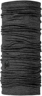 Lightweight Merino Wool Solid Grey Multifunktionstuch