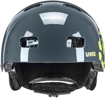 Uvex Kid III Fahrradhelm grau