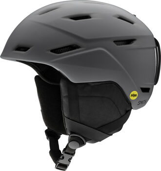 SMITH Mission Skihelm grau