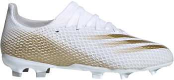 adidas X Ghosted.3 FG Fußballschuhe weiß
