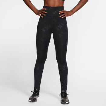 Nike Air 7/8 Tights Damen schwarz