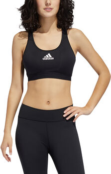 adidas Don't Rest Alphaskin Padded Sport-BH Damen schwarz