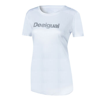 Desigual Essentials Trainingsshirt Damen weiß