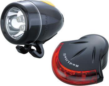 Topeak High Lite Combo Fahrradlicht-Set weiß