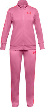 Under Armour Knit Trainingsanzug Mädchen pink